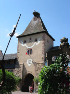 Untertor or Porte de France (Gate of France) in Turckheim (not that nest that holds the redord)