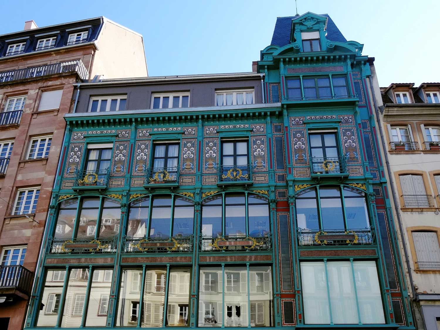 The Manrique store, Art Nouveau or Jugendstil style