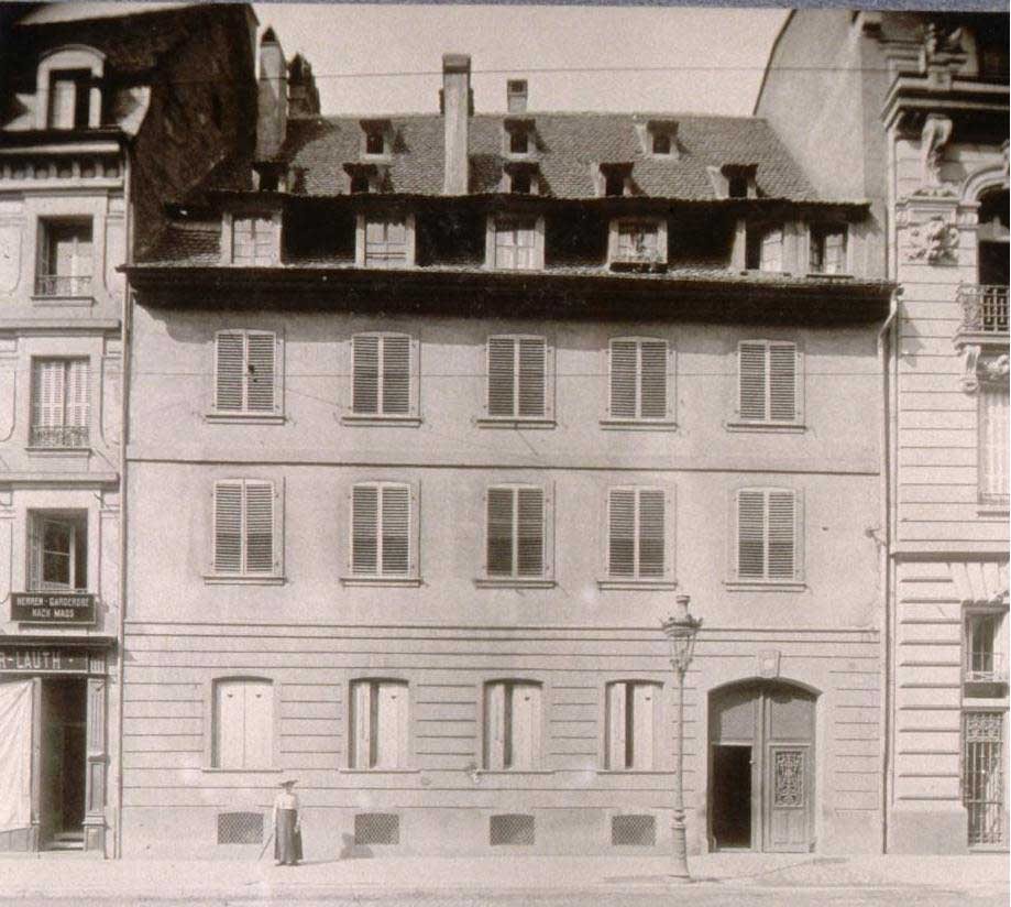 The birth house of Gustave Doré (16  Nuée Bleue street)