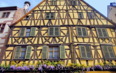 The half-timbered style