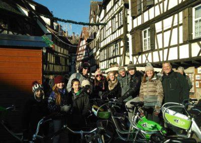 Visite vélo à la Peitte France, Strasbourg