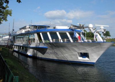 Visite guidée pour professionnel - Le River Rhapsody en croisière sur le Rhin à Strasbourg