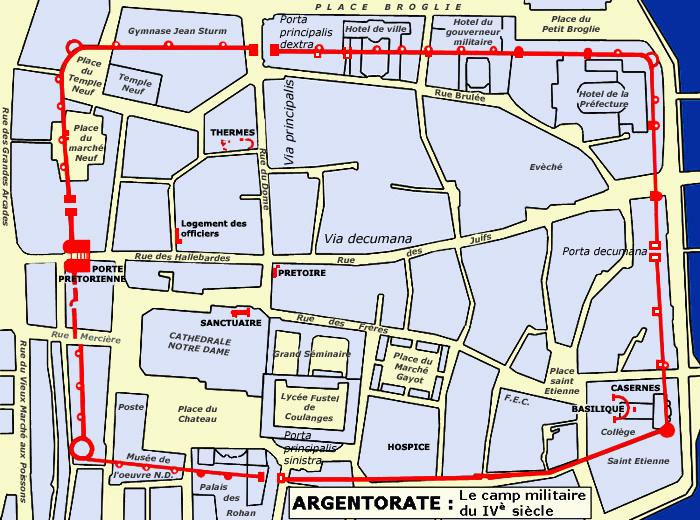 Les noms des rues de Strasbourg (partie 2/3) – Du Castrum à la Renaissance