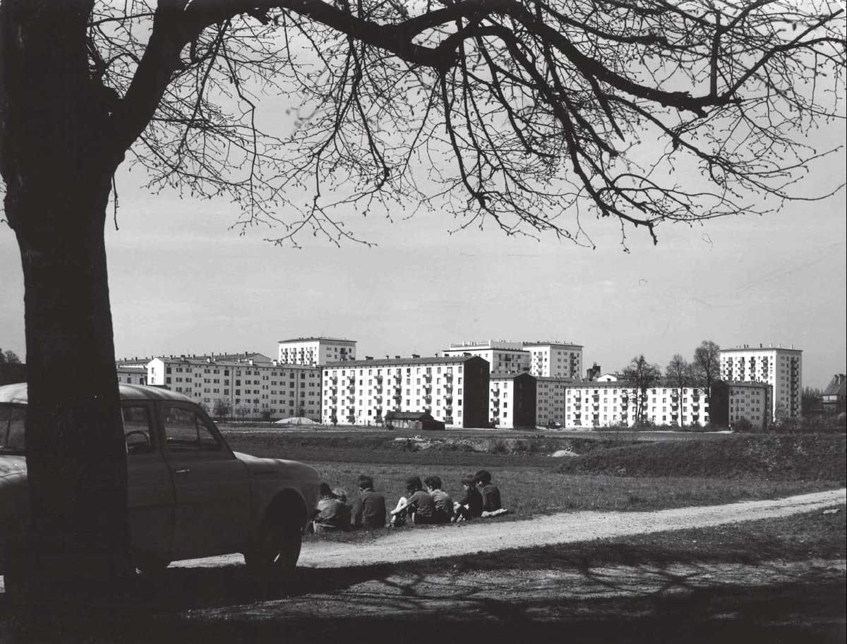 Sight on Neuhof around 1959