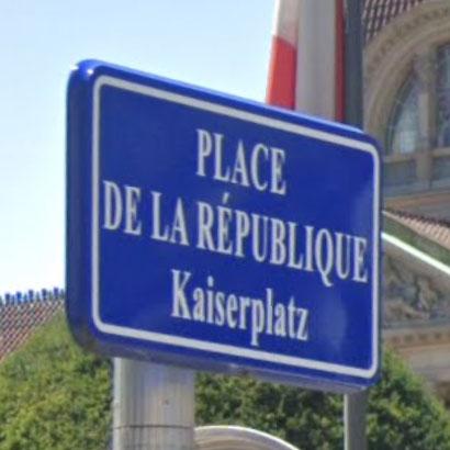 Street names in Strasbourg – politics and propaganda (3/3)