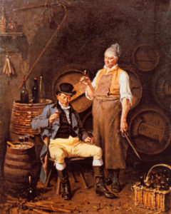Jan David Col (1822-1900) - The wine tasters