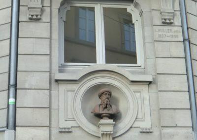 Buste de Jean Mentelin à Strasbourg