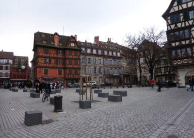 La place Saint-Etienne à Strasbourg