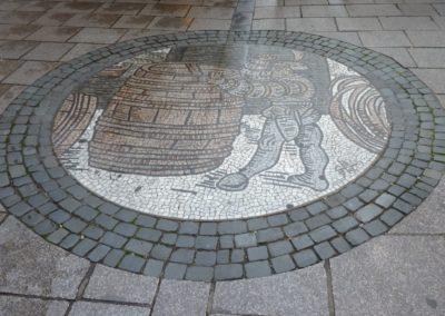La mosaïque de la rue des Tonneliers à Strasbourg