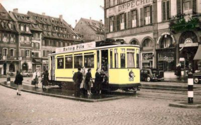 The tram's first life