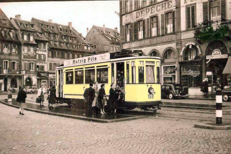 Le tramway, une première vie