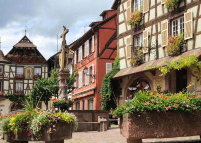 La Fontaine Constantin à Kaysersberg en Alsace
